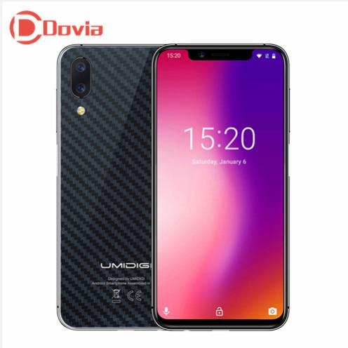 UMIDIGI una Pro 4G Smartphone 5,86 pulgadas Android 8,1 MTK6763 Octa Core 4 GB + 64 GB 12.0MP + 5.0MP Dual volver cámaras 3250 mAh teléfono móvil