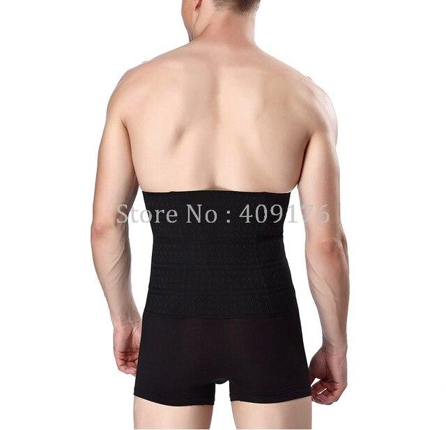 PRAYGER Beer Belly Belt Fit Waist Trainer Slimming Corset Control Abdomen Body Shaper Slim Tummy Trimmer Massage Waist Cincher 2