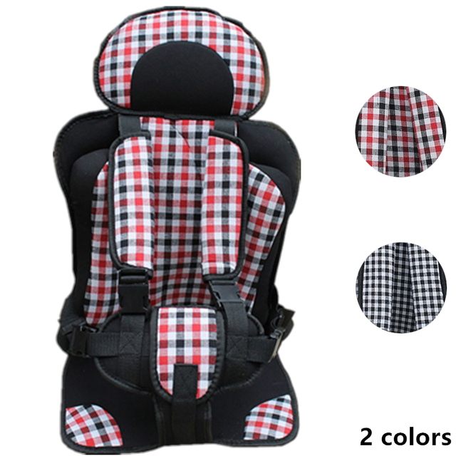 0-4Y Portable Baby Chair Seats Simple Infant Cushion Booster Seat Baby Chair in the Car Thicken Sponge Kids Stroller Seat Pad