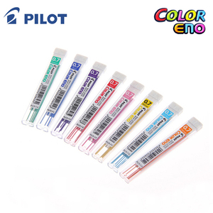 Image 3 - Pilot Color Eno Mechanical Pencil Lead   0.7 mm 8 tubes/lot Red/Violet/Blue/Light Blue/Green School & Office Supplies