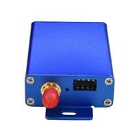 vhf uhf 433MHz 2 ואט UHF UART מודם רדיו נתונים VHF RS232 RS485 Wireless משדר 115200bps משדר ומקלט אלחוטיים (2)