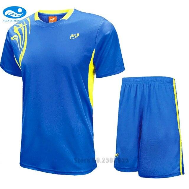 b623943f22ed2 Hombres camiseta de fútbol 2016 2017 uniformes de fútbol maillot de foot  survetement trajes de fútbol