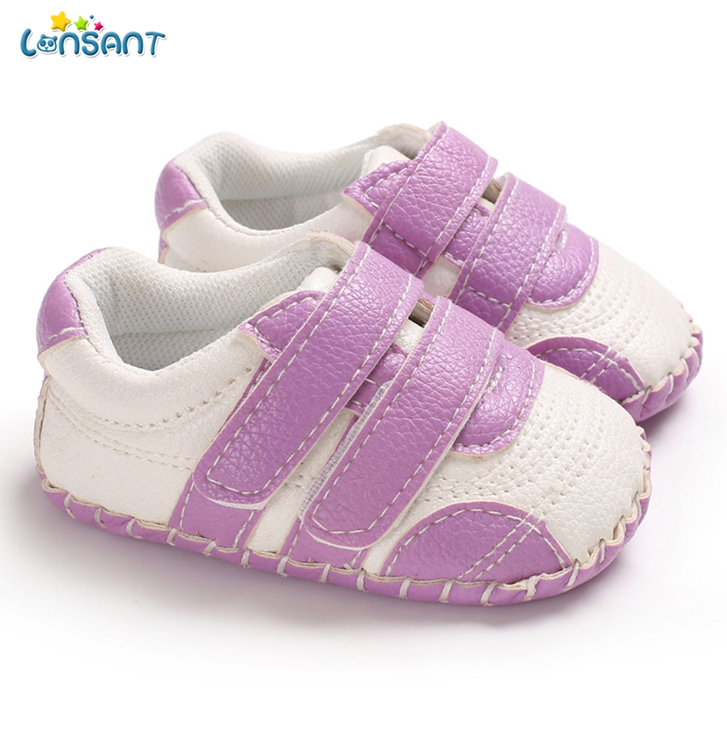 LONSANT First Walkers For Baby Anti Slip New Born Shoes Semelle Chaussure Kids Shoes Makosen Bebek Ayakkabi Baby Walker N30