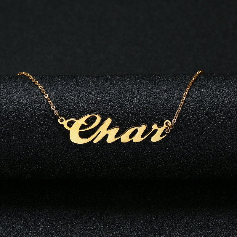 Personalized Name Necklace,Custom Name Necklace, Custom Jewelry, Custom Necklace, Necklace Women, Customized Gift For Her(China)