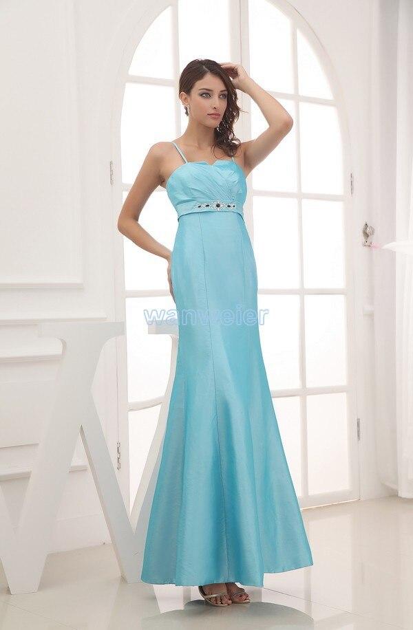 Сшить длинное бальное платье голубого цвета