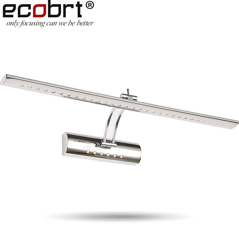 Moderna LED zidna svjetla čvora u kupaonici s Swing Arm zidne - Unutarnja rasvjeta