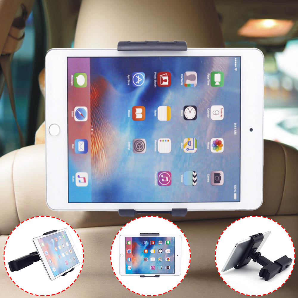 For iPad Air 2 3 4 5 6 mini 3 4 kindle Tablet Holder Car Back Seat Headrest Mount Bracket Holder Support For iPad Tablet PCstent lematec universal 360 degree rotation car seat headrest holder mount for ipad 4 mini 3 air 2 for android for samsung galaxy tab