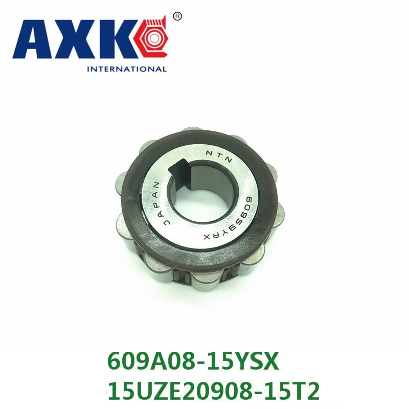 AXK KOYO  single row eccentric bearing  609A08-15YSX  15UZE20908-15T2 axk koyo brass cage single row eccentric bearing 617ysx 60uzs87