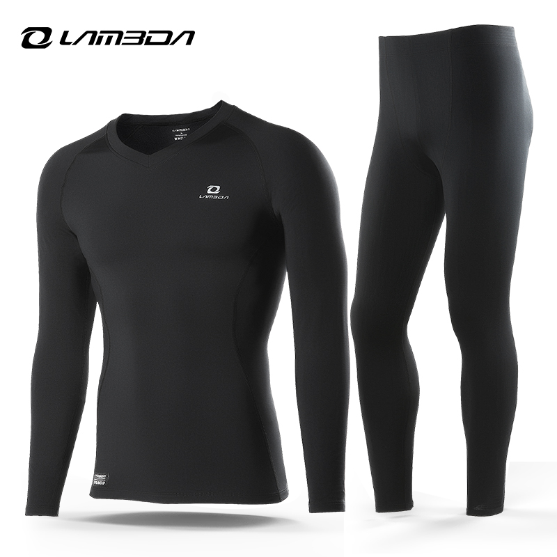 Lameda Sport Thermal Underwear Biking Base Layer Outside Maintain Heat Winter Lengthy Sleeve Clothes