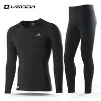 LAMEDA Sport Thermal Underwear Cycling Base Layer Outdoor Keep Warm Winter Long Sleeve Clothing
