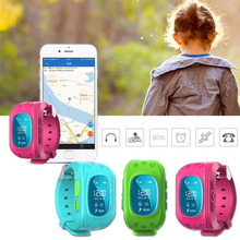 1pc Smart watches children Kid wrist clocks Safe Tracker Watch SOS Call Locator GPS fashion casual silicone strap rectangle H5