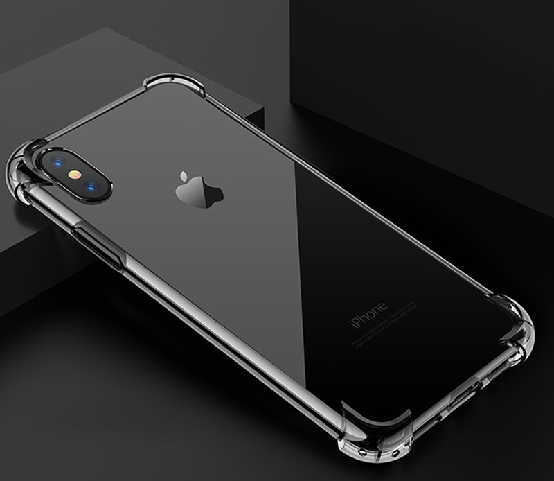 TOMKAS Anti-knock Cases For iPhone X 8 Plus Case Silicone Soft TPU Clear Cover Case For iPhone 6 6S 7 8 Plus X Cases Transparent (10)