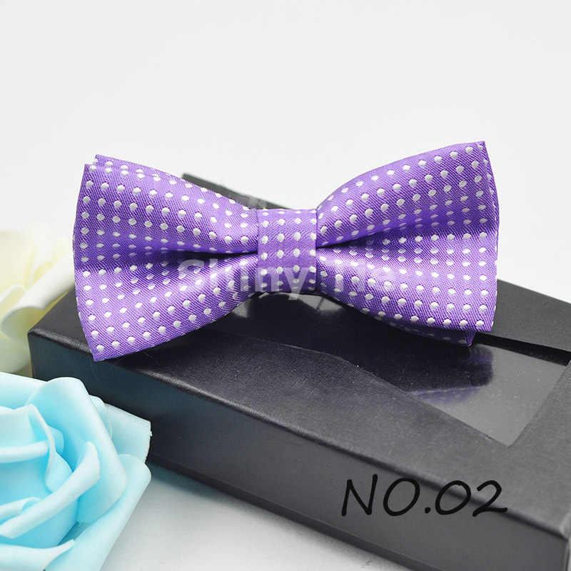 Vendita calda Bambini Papillon Con Puntini Colorati Farfalla Sveglio di Modo Del Bambino Tie Pet Bowtie Cravatta di Trasporto Libero