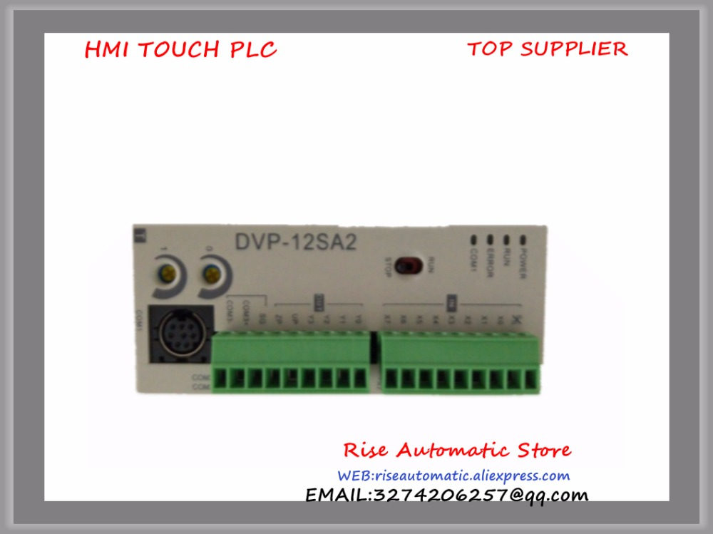 New Original Programmable Controller Module DVP12SA211T PLC 24VDC 8DI 4DO transistor