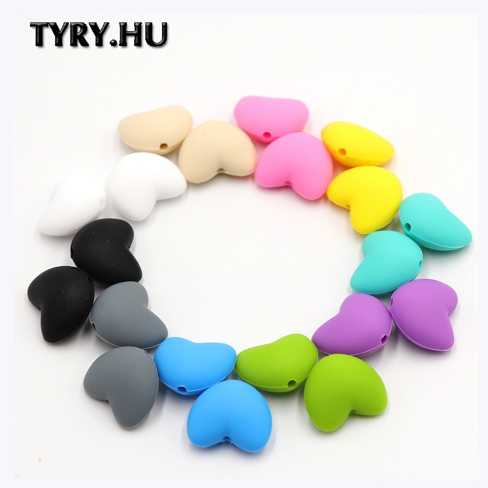 5X Silicone Beads Baby Teether Teething Toy Crown Bead Necklace Pacifier Chain
