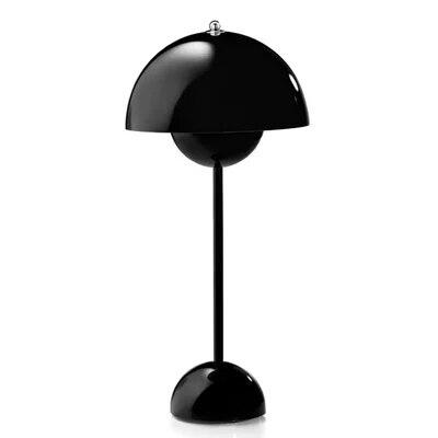 Verner panton Flowerpot VP1 black Table lamp Light E27 Reading Desk Lamp For Home Decoration