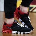 Высокое качество мужская спортивная обувь мужчины повседневная узелок дрейфа обувь сетка обувь мальчиков бегун обувь кроссовки 2016