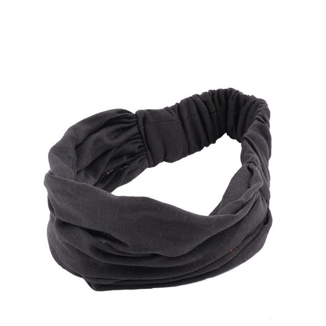 Vintage Wide Ribbon Headbands
