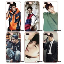 Pour iPhone X 4 4 S 5 5 S 5C SE 6 6 S 7 8 Plus Samsung Galaxy J1 J3 J5 J7 A3 A5 2016 2017 Ji Chang Wook Acteur Coréen coque en silicone(China)