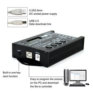 Image 3 - TC420 TC421 TC423 светодиодный контроллер времени Wi Fi 12 В/24 В постоянного тока, 5 каналов, общая выходная мощность 20 А, общий анод светодиодный светодиодных фонарей