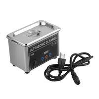 800ml Digital Display Stainless Steel Ultrasonic Cleaner Sonic Cleaning Equipment Glasses Dental Washer Machine US Plug
