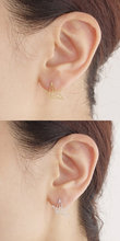 SMJEL Fashion Jewelry New Origami Crane Earrings Gold Color Bird Stud Earrings For Women's Gift