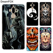 DREAMFOX M452 Death Bone Science Fiction Artistic Soft TPU Silicone Case Cover For Huawei Mate Nova 2 9 10 20 30 Lite Pro Plus