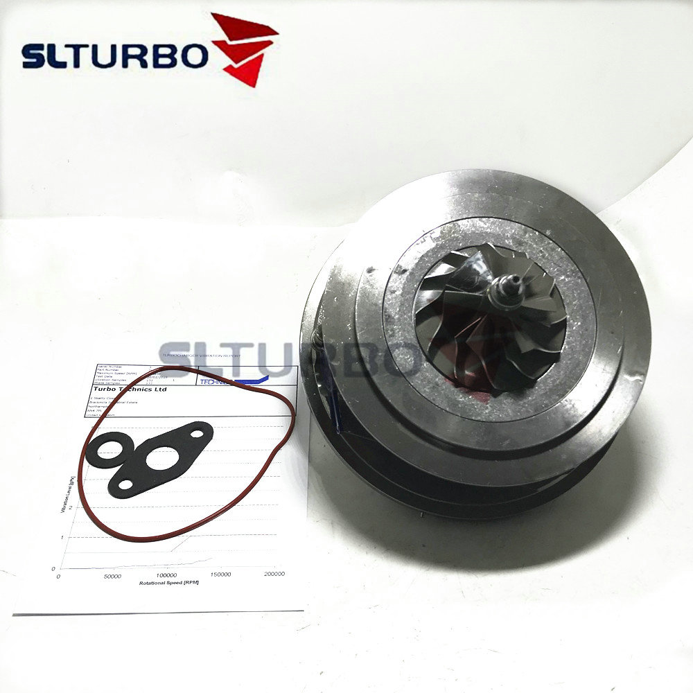 Turbo charger <font><b>GTB2056V</b></font> turbine cartridge core CHRA 762060 for Volvo C30 C70 S40 S60 S70 S80 V50 XC90 2.4 D5 163/180 HP I5D 2006- image