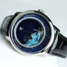 Switzerland Top Luxury Brand PONIGER Men Watch Japan Import