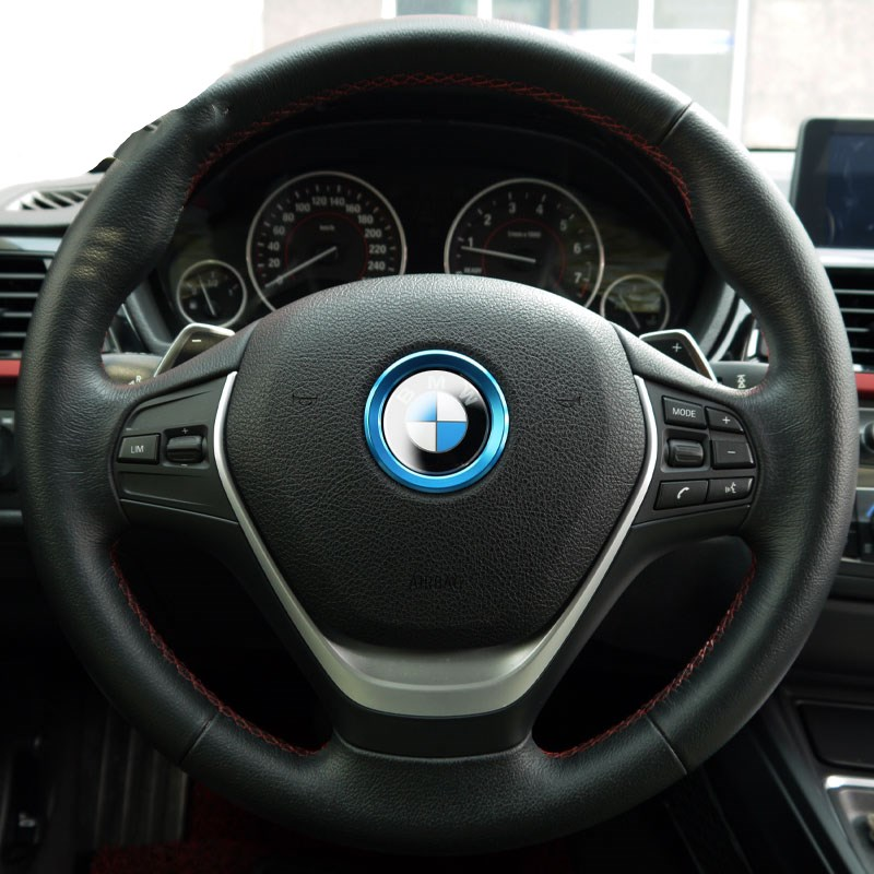 3 colors car interior steering wheel accessories for bmw 320 x1 x3 ...