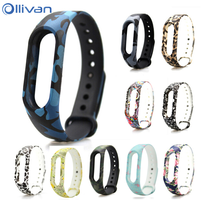 For Xiaomi mi band 2 Strap Silicone Smart accessories For Xiaomi Mi Band 1S & 1A smart wristbands Bracelet Miband 2 Accessories tpu band with white round dot for xiaomi miband 1s