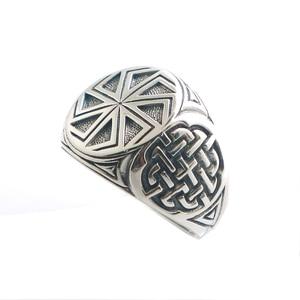 Image 3 - Taille 6 à taille 14 unisexe Cool 925 argent Vikings slave roue amulette anneau