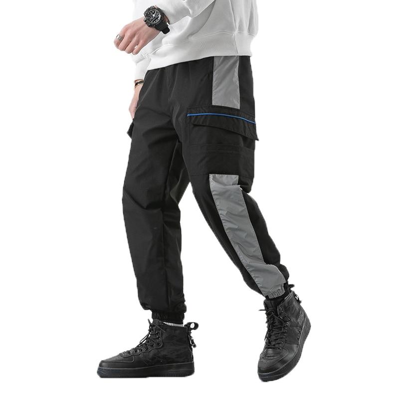 Pant Joggers Casual-Trousers Harem Elastic Street-Punk Black Male Mens Hip-Hop 5XL Harajuku