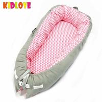 KIDLOVE Portable Crib Baby Nest for Newborn Baby Nest Sleep Bed Travel Crib Portable Snuggle Nest Mattress 2018