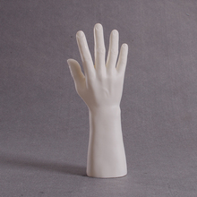 Right Male Mannequin Hand with white hand for Glove display mannequin hands male,hand model, men
