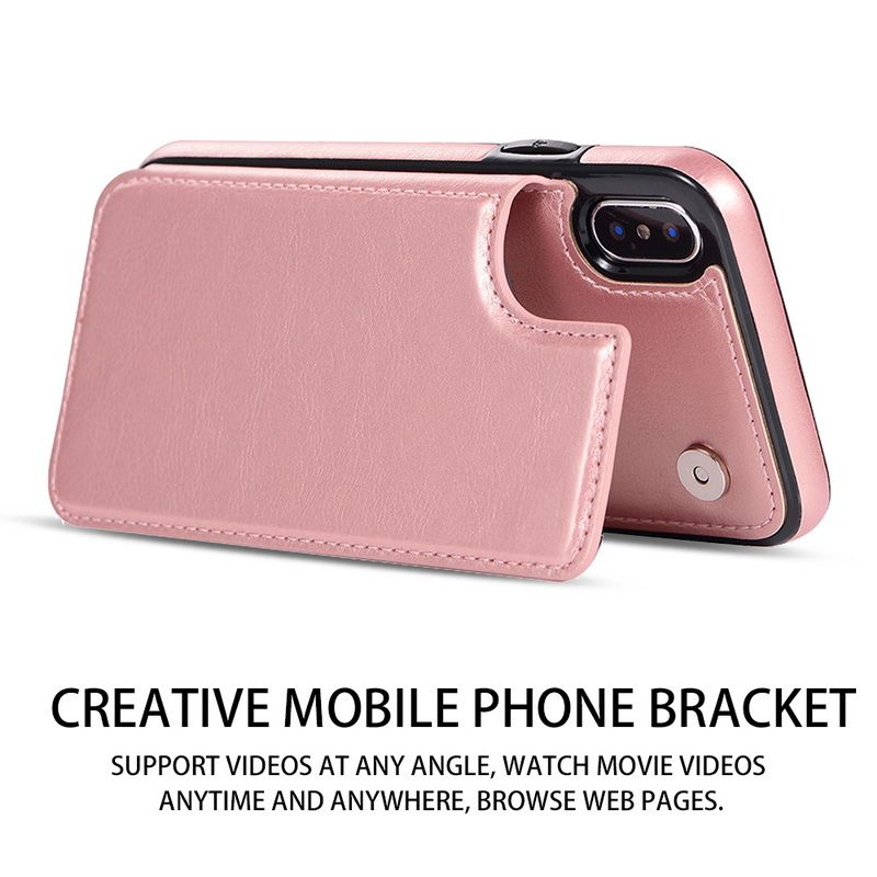 PU Leather Flip Wallet Case for iPhone 11/11 Pro/11 Pro Max 4