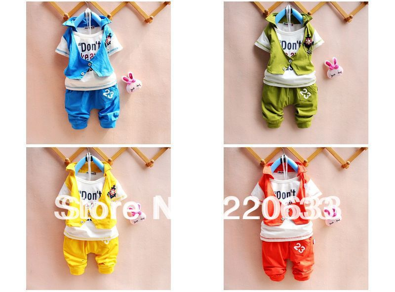 new 2018,summer,fashion boy clothing set,baby boy clothes,kids clothes set for 2-4 years old,sport suit,1 set=T-shirt+pants
