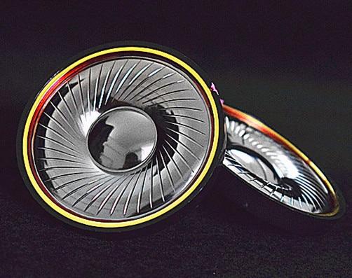 50mm speaker unit high impedance 540ohms Beryllium film Double magnetic High resolution 1pair=2pcs 50mm speaker unit  plated beryllium unit