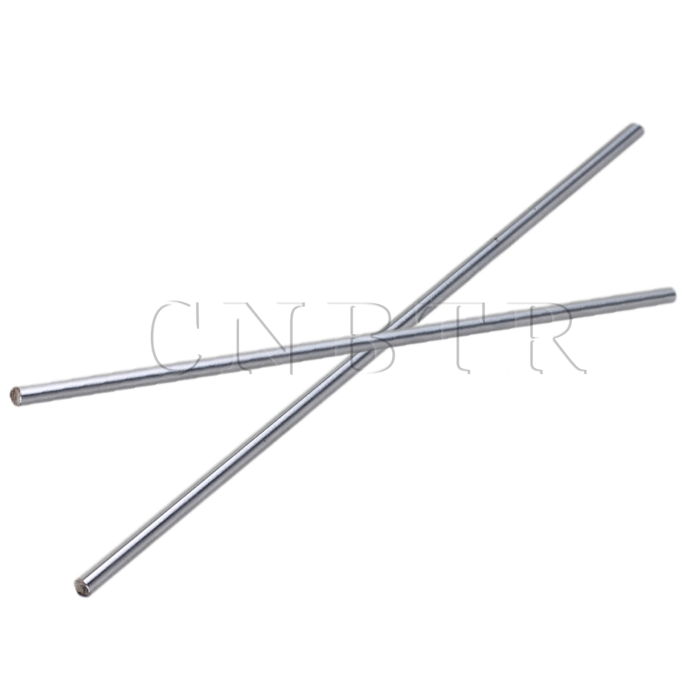 CNBTR  5mm OD Cylinder Liner Rail Linear Shaft Optical Axis Bearing Steel Pack of 2 4pcs od 16mm x 800mm cylinder liner rail linear shaft optical axis