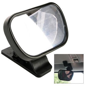 Mini naklejka na samochodowe lusterko wsteczne bezpieczeństwo lusterko do jazdy z dziećmi Baby Viewer lusterko pomocnicze wewnątrz lusterko wsteczne z przyssawką i klipsem do samochodów tanie i dobre opinie CN (pochodzenie) Wnętrze lustra EPC_CMO_30O