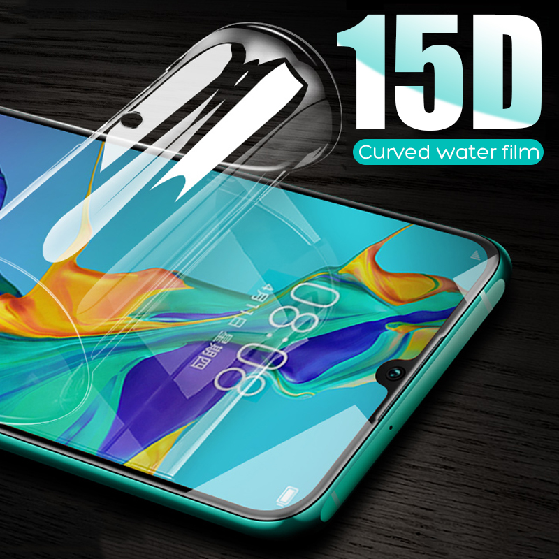 <font><b>15D</b></font> Hydrogel Protective Film For <font><b>Huawei</b></font> <font><b>P20</b></font> <font><b>Lite</b></font> P30 Pro P10 Plus Screen Protector For <font><b>Huawei</b></font> Honor 10 V10 9 <font><b>Lite</b></font> Not <font><b>Glass</b></font> image