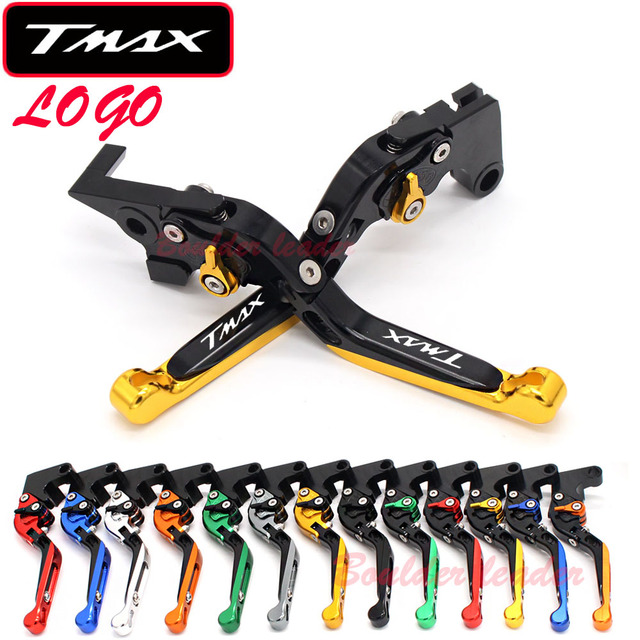 !!!Logo(Tmax) For Yamaha TMAX 500 TMAX500 T-MAX 500 2001 2002 2003 2004 2005 2006 2007 CNC Motorcycle Brake Clutch Levers
