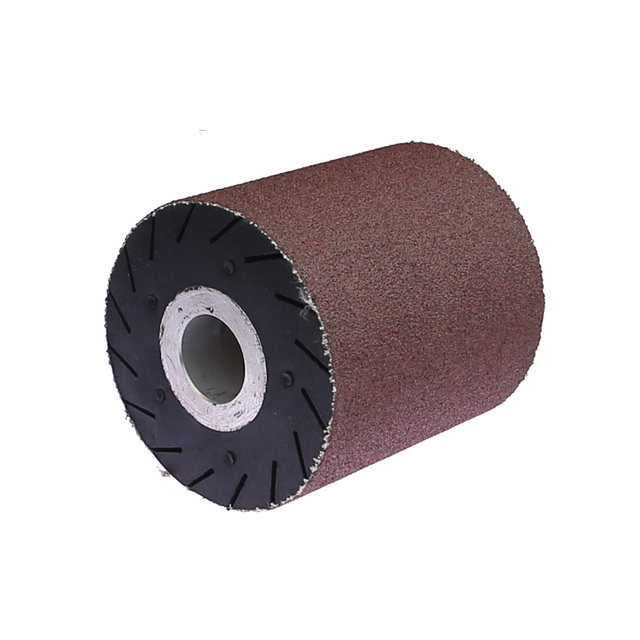 90*100*25mm Expander Wheel Rubber Polishing Wheel works with Sanding Belts
