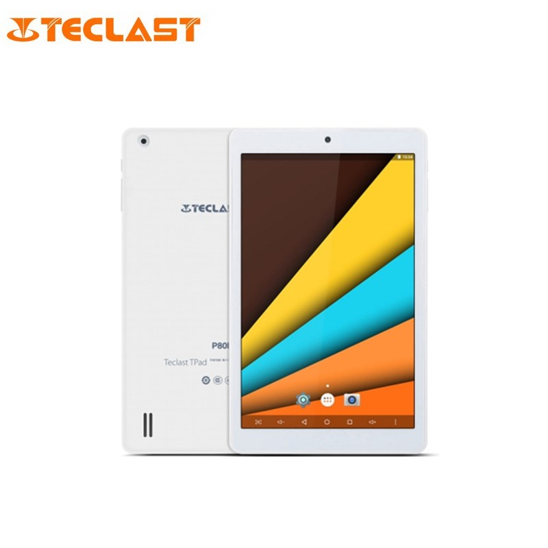 Teclast P80h PC Comprimés 8 pouce Android 7.0 Tablet MTK8163 64bit Quad Core 1.3 GHz WXGA IPS Écran 1 GB 8 GB Double WiFi GPS Bluetooth