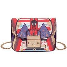 2017 New Fashion Women Bags PU Leather Luxury Designer Brand Shoulder Messenger bag Ladies Handbags High Quality Chain Small Bag