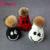 Nova Moda Sorriso Rosto Hats & Caps Unisex Bonito Vesgo Cap Fêmea de Pele de Guaxinim Bola de Tricô Feitos À Mão Chapéus Gorros de Esqui ZZM005