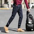 Мужская Весна и Осень случайные штаны Японский ноги ноги брюки Корейских ноги гарем брюки вышитые брюки 5XL