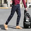 Men 's Spring and Autumn casual pants Japanese foot - leg trousers Korean feet harem pants embroidered trousers 5XL