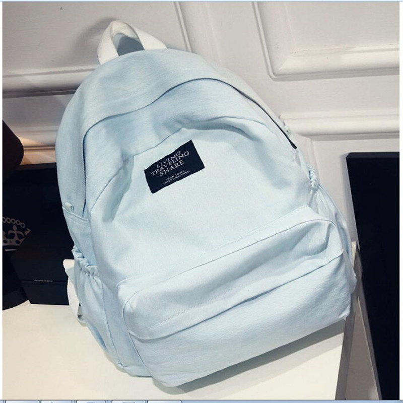 maison Backpacks high quality Denim fashion Girls Boys School Travel Rucksack Satchel Shoulder backpack women 2018MA3 ...