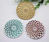 8*8cm*3 Doily Lace Circle Cutting Dies Scrapbooking Flower circle layer craft dies cut embossing diy card making create stencile